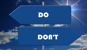 do and do not - cropped