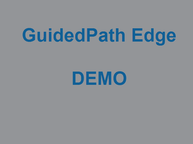 GuidedPath Edge - Demo